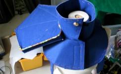 Flatland ARG!!! - Helmet Fabrication