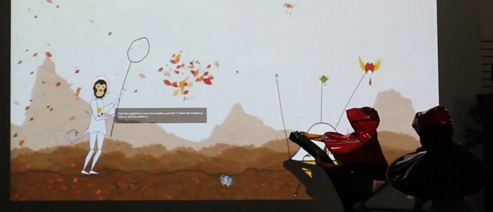 Ucla game lab cosmic cardinal catching