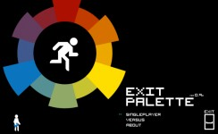 Exit Palette - Title Screen