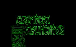 Cosmicat Crunchies - Title Screen