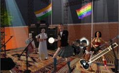 The gg hootenannny: Gandhi's Release Party and Global Gaming Singalong, 2010