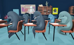 Classroom Aquatic - Student Interaction Gameplay