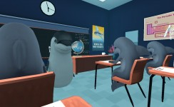 Classroom Aquatic - Teacher Interaction Gameplay