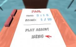 Classroom Aquatic - Game Over Screen