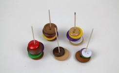 Button Burgers - Game Bits