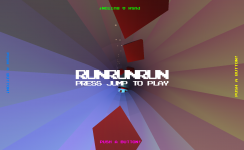 RUNRUNRUN - Title Screen