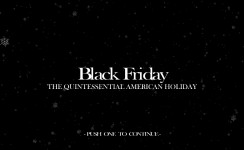 Black Friday - Title Screen
