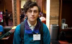 UCLA student John Brumley