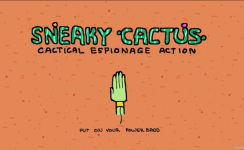 Sneaky Cactus - Nick Crockett